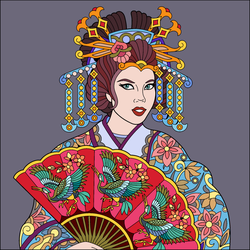 china girl  by foxylady6