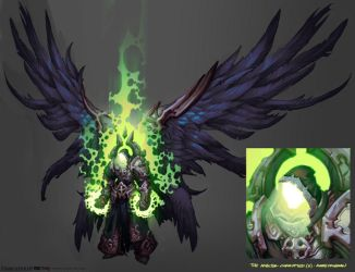 Darksiders II boss 5 (corrupted archon) by CorruptedDeath