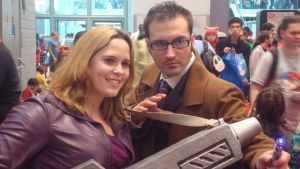 NYCC 2013: The Doctor and Rose by ShawnAtkinson