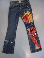 Spider-Man Jeans by buffysummrsx