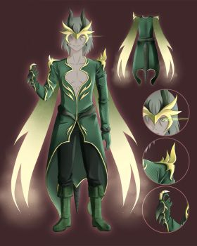CE: Green Menswear Design by Klimene