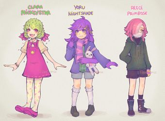 ... they have last names now by Roshimii