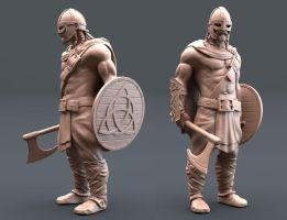 Ancient Warrior by maxew