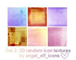 Set 2: Random Icon Textures by jenlynn820