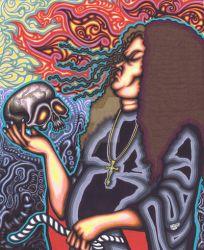 Messiah 2, Marker, 14x17, 2010 by Madd2daMaxx