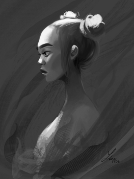 Thinking by ArtOfAyanami