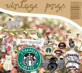 Vintage PNG's By PastelitoLoco by PastelitoLoco
