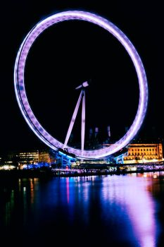 London Eye Spinning by shhhhh-art