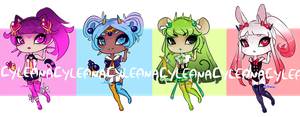 SP Gleamstic: Magical Girls? [CLOSED] by Cyleana