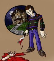 Psychotic Little Norman by Jonny-Aleksey