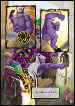 World of Warcraft comic by GreenAirplane