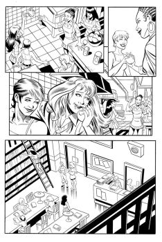 St Fran. inks pg.6 by HillmanArts