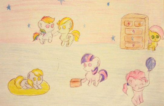Baby poniess by Sumi-mlp25