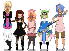 || :: Welcome To The Family: Comers 1 :: || by XxKomori-EmpressxX