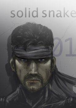 Solid snake by 5aXoR