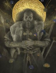 The Funeral of Beowulf by Yoann-Lossel