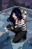 x-23 cover 1 by DanniShinyaLuo