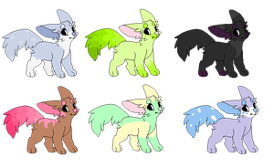 5 Point Dogs (OPEN 1/6) by R3D-Adopts