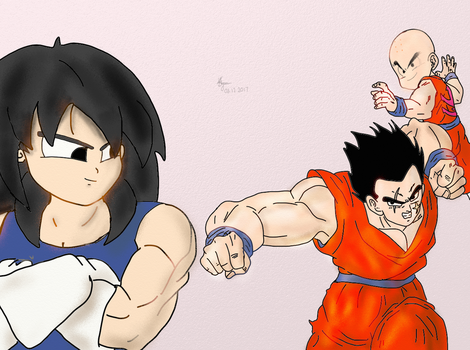Training Continues! Age 766 by Vegito65