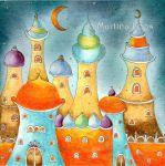 1001 Night by dragonflywatercolors