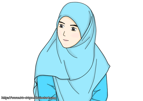 #18 Hijab Girl by 06-06pm