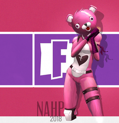 Valentine skin Fortnite Battle Royale by nahp75