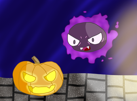 October Gastly by ArielMew