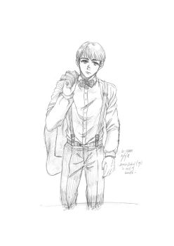 Armin - Suit and Bowtie by hanisu93