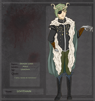 Demon Lord: Leviathan by TheUnitCircle