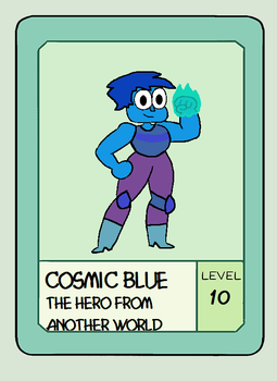 OK KO cosmic blue by jerotam