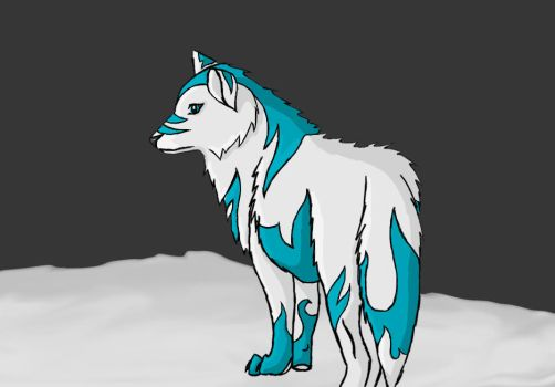 Frost Wolf : Dionisia by RogueWolf97