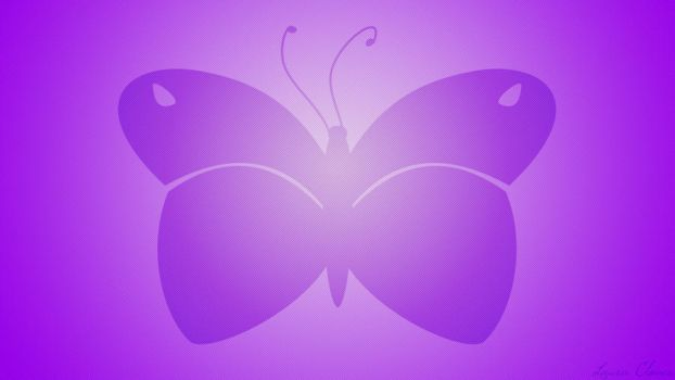 Wallpaper Purple Butterfly by LauraClover