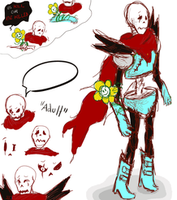 Virus!Papyrus - Undertale AU by Jeyawue by Jeyawue