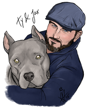 Ty and Jax by MelanieDarling