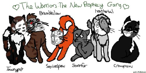 The Warriors: The New Prophecy Gang- RAGE FACES!!! by MCRKitteh