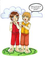 Merry and Frodo -baggins0716- by KatieHobbit
