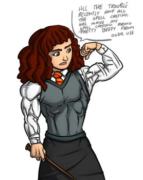 Hermione bicep by Ritualist