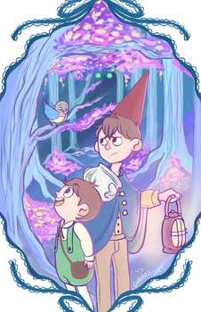 Over The Garden Wall by wishkoi