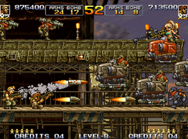 Metal Slug V // MSA Dragunov by APR01-DeZKan