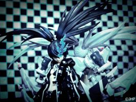 Black Rock Shooter Game BRS by JayHedgePhotography