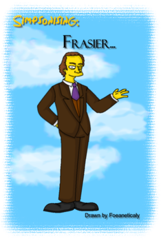Simpsonising: Frasier by Foeaneticaly