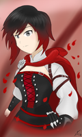 RWBY Volume 4: Ruby Rose by CHE3ZY