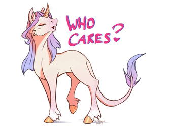 who cares-icorn by SoftlyVoiced