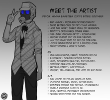 [Meet The Artist] by Gothamed
