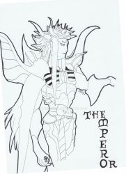 FF2 The Emperor Outline by Candy2012