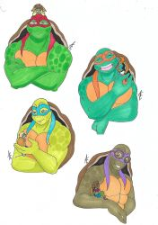 Request TMNT with small KGMNT by AliceCherie