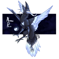 {MYTH ADOPT} Nevermore Raven [CLOSED] by WellHidden