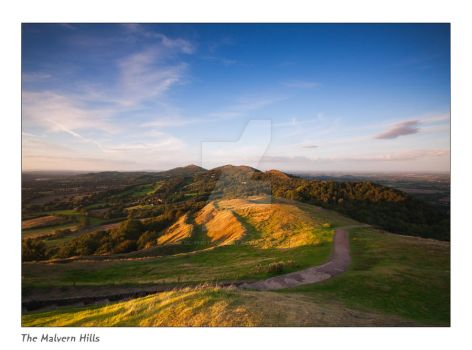 The Malvern Hills by DL-Photography