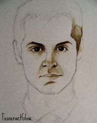 Andrew Scott ~ Jim Moriarty (WIP) by Lykusio