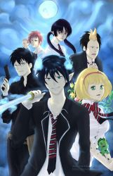 Ao No Exorcist by darkshia